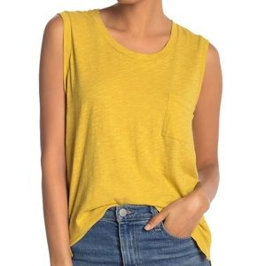 Madewell Pocket Knit Muscle Tank Top